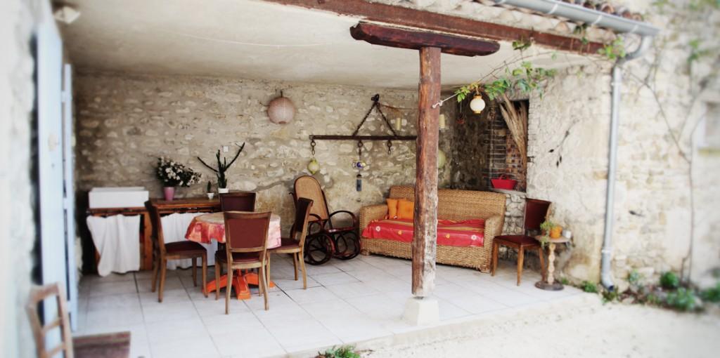 Marius - patio (côté cour)
